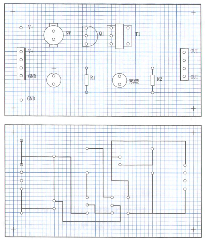 千人震电路布局设计图